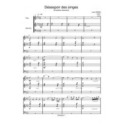 DESESPOIR DES SINGES...