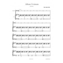 ALLIUM URSINUM score: piano...