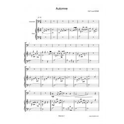 AUTOMNE score violoncello...