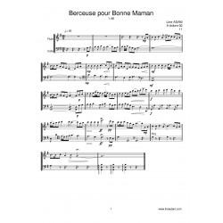 BERCEUSE POUR BONNE MAMAN...