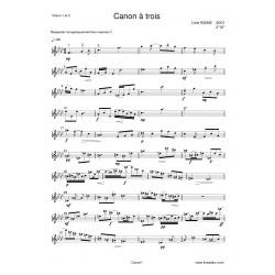 CANON A TROIS partition: 2...